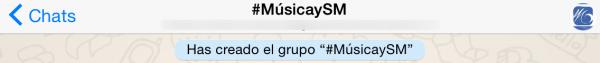 Grupo para organizar el evento #MúsicaySM 2015