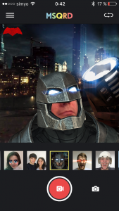 Batman en MSQRD...