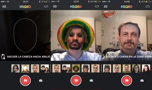 MSQRD: genial app para crear divertidos selfies y velfies