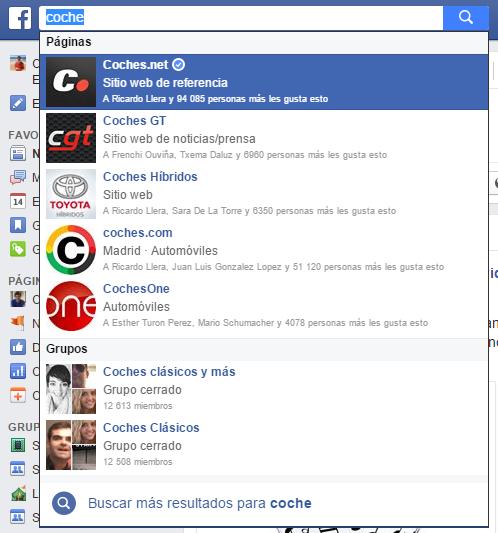 Buscador de Facebook (en uso)