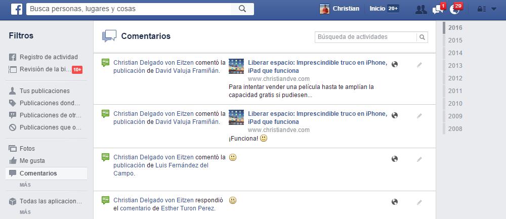 buscar mi perfil en facebook