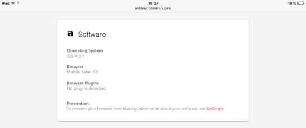Software en el iPad (Sistema operativo)
