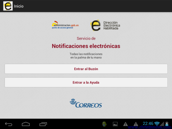 Consultar notificaciones electrónicas de Hacienda en Android y iPhone/iPad