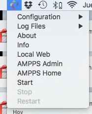 Configuración de Ampps en macOS (OS X)
