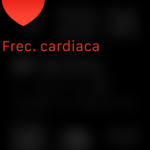 Midiendo la frecuencia cardíaca con el Apple Watch...