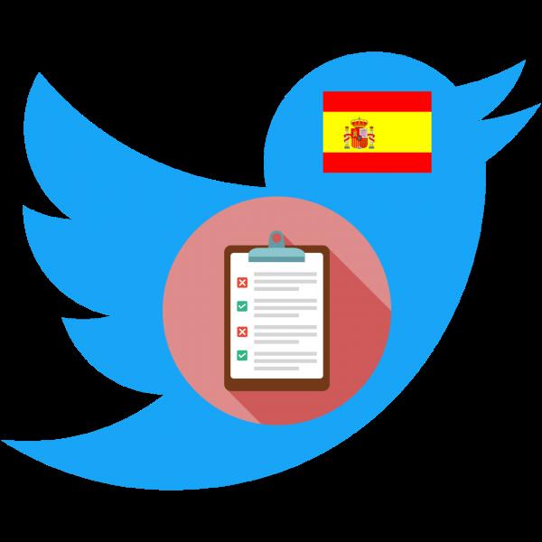 Encuesta de uso de Twitter en España