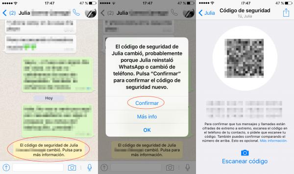 Aviso: cambio del código de seguridad en iPhone