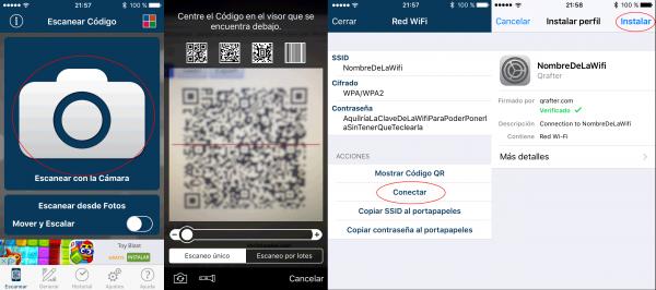 Cómo instalar la conexión Wifi en dispositivos con Android o con iOS