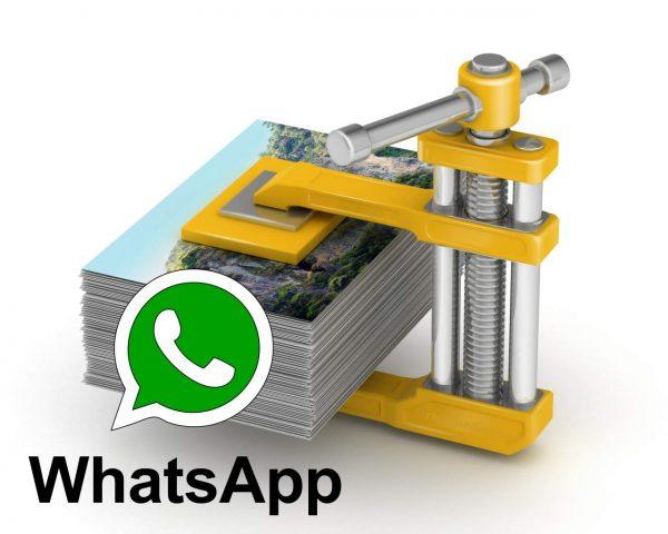 ¿Cuánto reduce WhatsApp la calidad de las fotografías y cuál es la resolución máxima de una imagen?