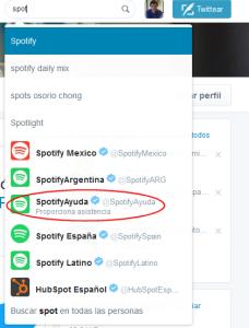 Twitter - Proporciona asistencia