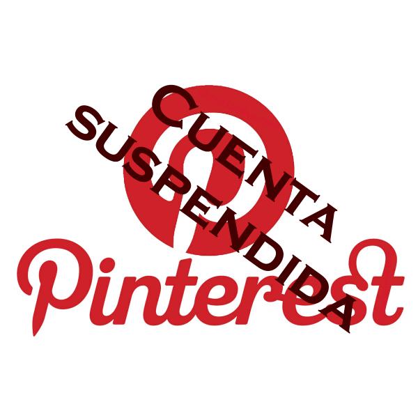 Pinterest: cuenta suspendida. Causas, soluciones y cómo evitarlo
