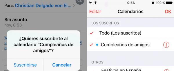 Cómo añadir los cumpleaños a Apple Calendar (iPhone, iPad, iPod touch, macOS)