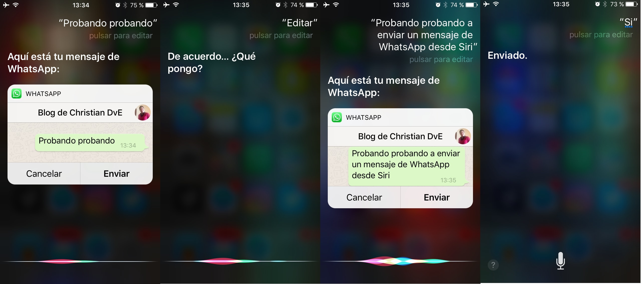 WhatsApp y Siri: cómo leer y enviar chats en iPhone a fondo