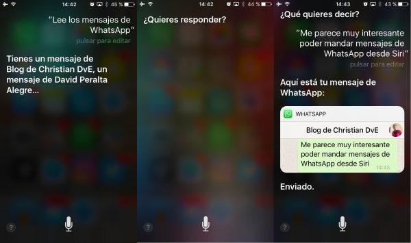 Cómo leer los mensajes nuevos de WhatsApp con Siri – Oye Siri lee los mensajes de WhatsApp y también responderlos