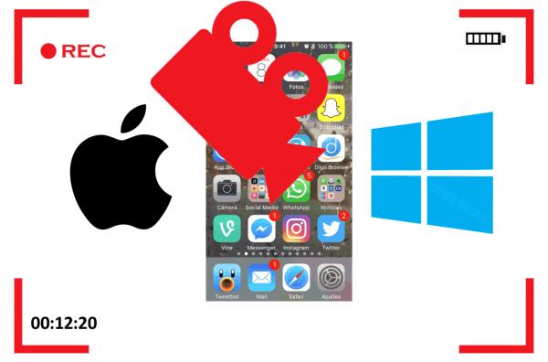 Cómo grabar la pantalla del iPhone, iPad y iPod touch en Windows y macOS gratis