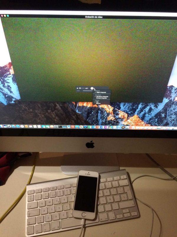 Conectar el iPhone, iPad o iPod touch con el cable lightning al Mac