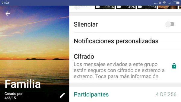 Cómo personalizar las notificaciones de WhatsApp de los grupos y contactos