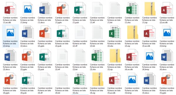 Cómo renombrar ficheros en lote o en grupo muy fácilmente
