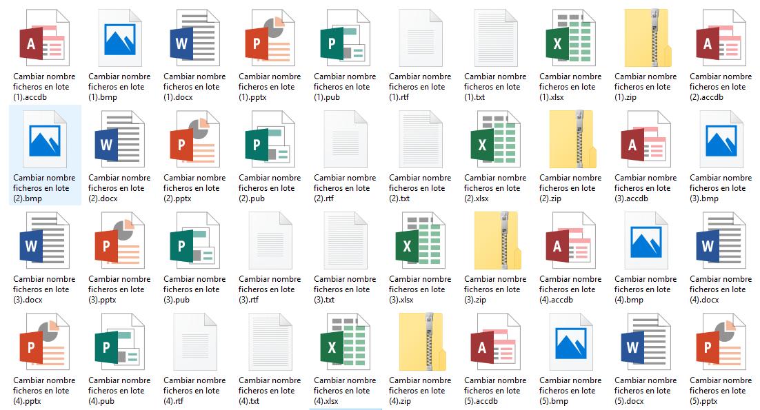 Windows: Cómo renombrar ficheros en lote (incluso en subcarpetas) fácilmente