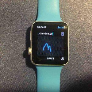 Scribble: cómo escribir mensajes en el Apple Watch