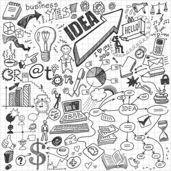 Los garabatos ayudan a desarrollar la creatividad y la concentración