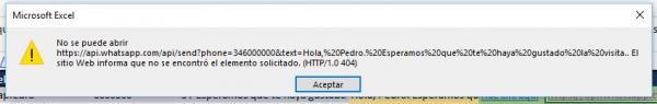 """No se puede abrir (dirección). El sitio Web informa que no se encontró el elemento solicitado. (HTTP/1.0 404)"""""""
