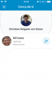 Cerca de ti en LinkedIn descubre a Bill Gates ;)
