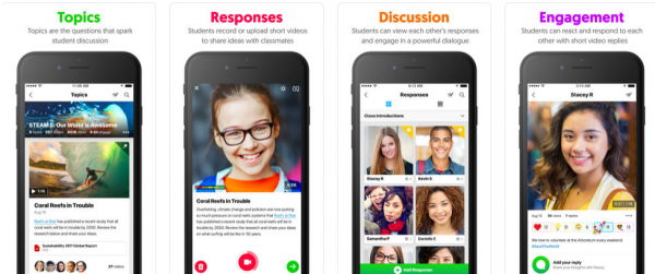FlipGrid en iPhone, iPad, Android y iPod touch