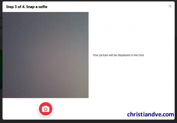 Grabar el vídeo del alumno/estudiante/participante en FlipGrid (hacer una selfie)