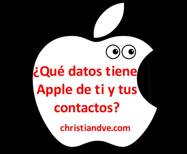 ¿Qué datos tiene Apple de ti y tus contactos? Cómo consultarlos y cambiarlos