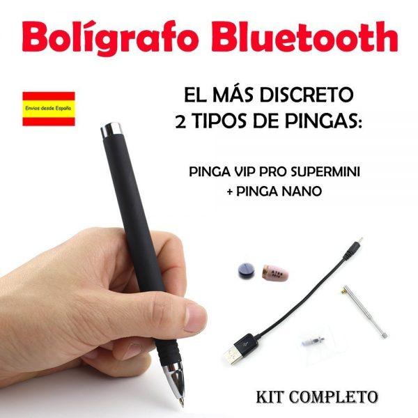 Bolígrafo bluetooth para copiar en los exámenes