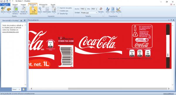 Chuletas para Windows - Chuletas y Cibr - Plantilla Coca Cola