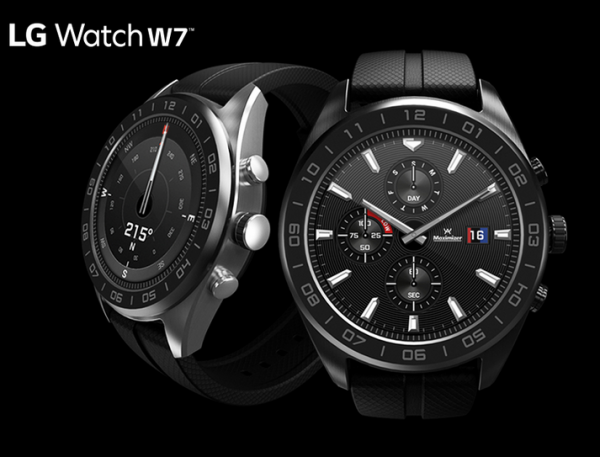 ¿Es un smartwatch o no? Sí, es un LG Watch W7