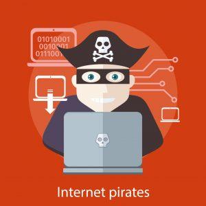 Los piratas de Internet acechan...