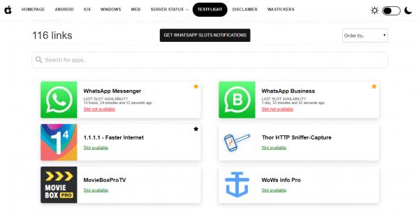Información de plazas de beta tester en WhatsApp y WhatsApp Business para iPhone en WaBetaInfo