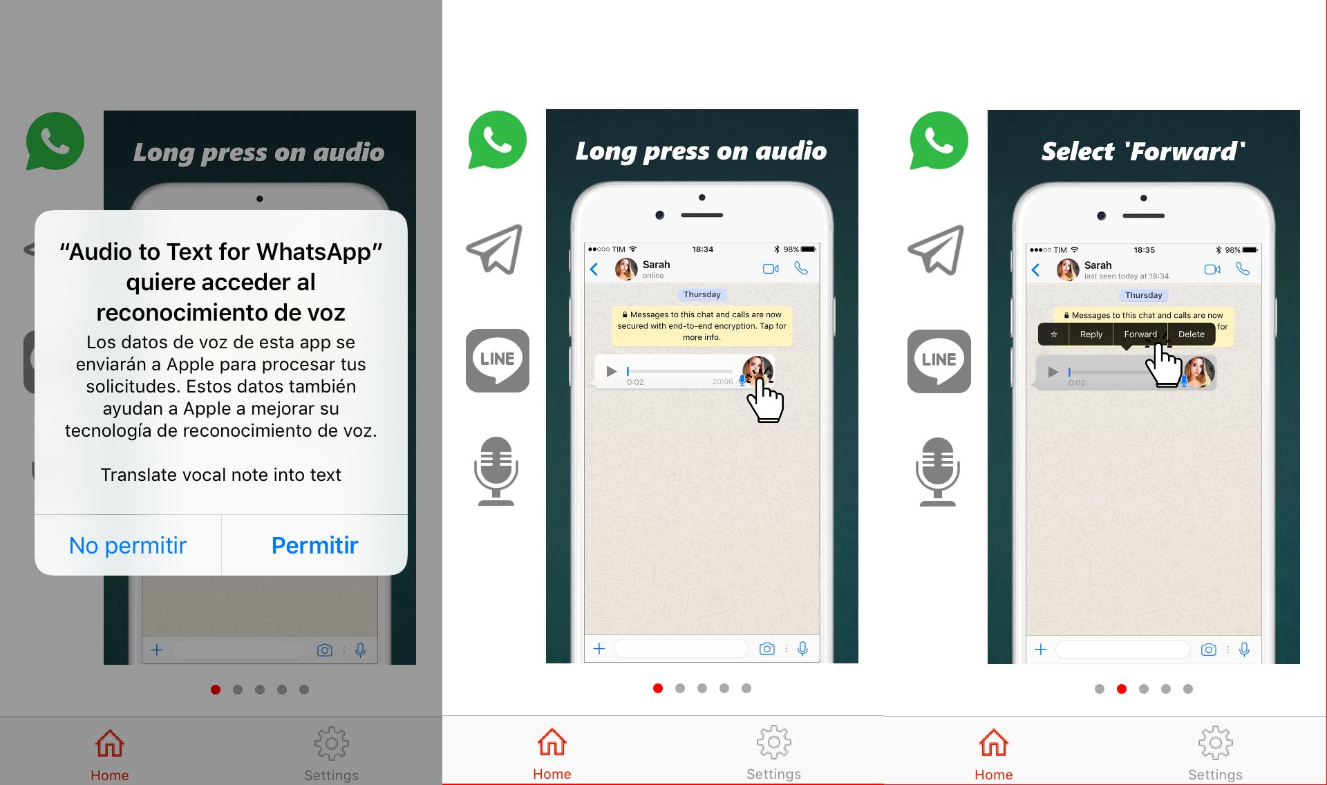 WhatsApp: cómo pasar audios o notas de voz a texto gratis en ...