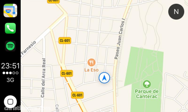 CarPlay y la app de Apple Maps
