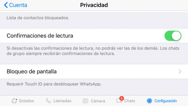 Bloquea el acceso a WhatsApp con contraseña o biometría para evitar que espíen WhatsApp