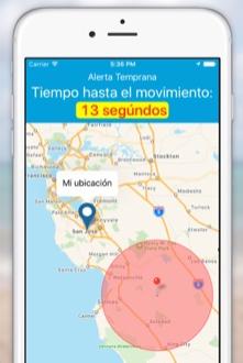 eQuake alerta de terremotos - Alerta temprama