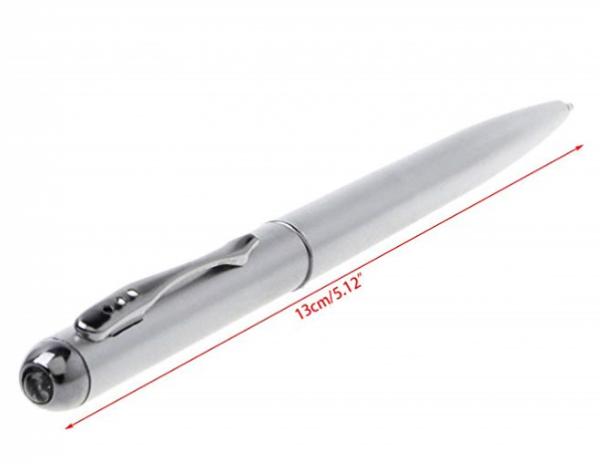 Bolígrafos de tinta invisible con luz LED ultravioleta