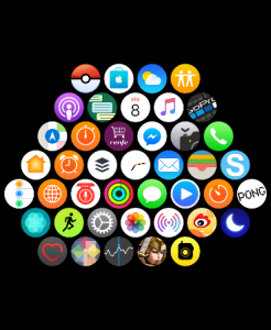 Apps en el Apple Watch