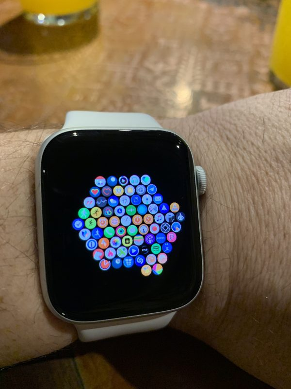 Apple Watch de Carlos Pascual