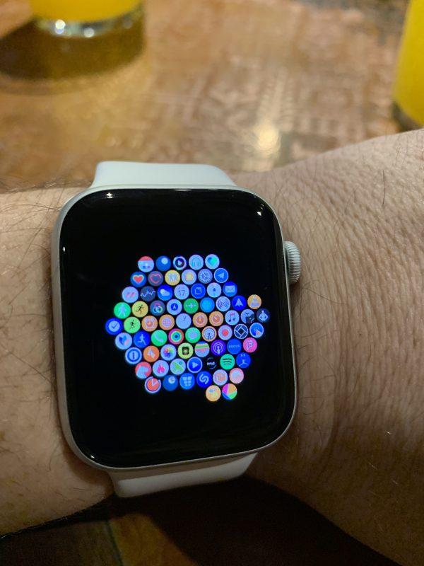 Apple Watch de Carlos Pascual