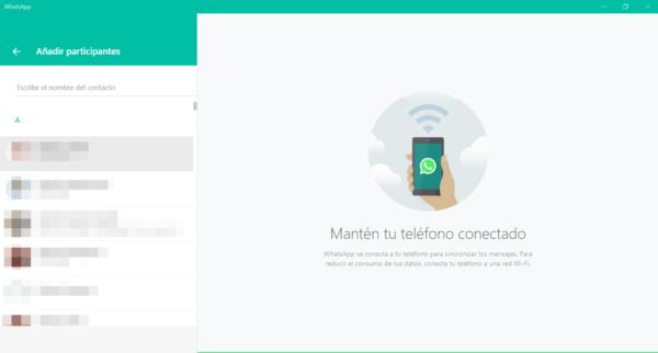 Cómo crear un grupo de WhatsApp con teclas