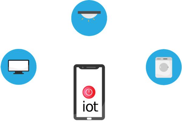 Dispositivos IoT (Internet of things o Internet de las cosas). Imagen de Tumisu en Pixabay