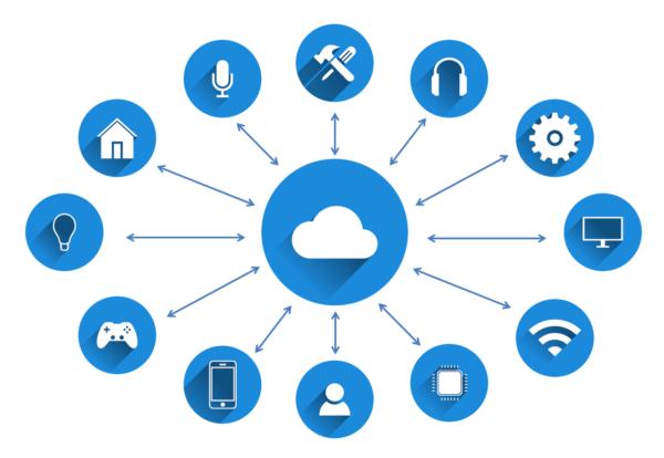 Cloud computing - Imagen de Tumisu en Pixabay