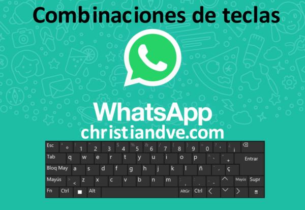 WhatsApp: combinaciones de teclas/atajos de teclado para WhatsApp web y WhatsApp para Windows y macOS