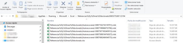 Recuperar un fichero de Excel no guardado: buscar archivos de copia de seguridad de Excel y autorrecuperación xlsb