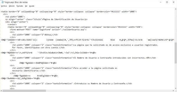 Código fuente del blog de ChristianDvE versión inicial