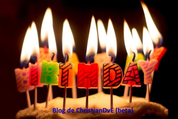 El blog christiandve cumple 18 años